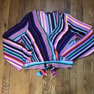 Silky business casual top ❤️💜💛🧡